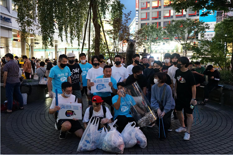 渋谷海さくらの清掃イベントを取材しました